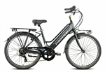 CICLO E-BIKE 26 DONNA VENUS BATTERIA INTEGRATA 36V NERO