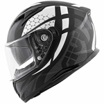 CASCO GIVI 50.6 INTEGRALE GRAPHIC NERO/ARGENTO TG.VARIE