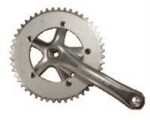 GUARNITURA ALLOY PASSO 1/8 SINGLE SPEED