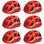 CASCO CICLO PAINT RED